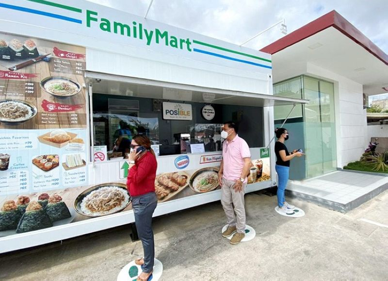 FamilyMart opens three new compact stores in Cebu, offering a unique customer experience in response to the effects of the Covid-19 pandemic. (PR)
