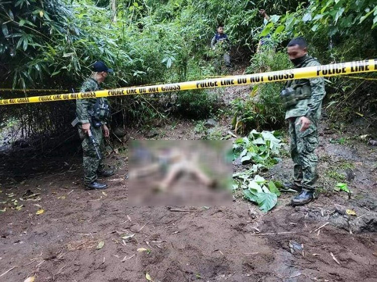MOISES PADILLA. Army kills an alleged NPA member in an encounter in Sitio Arum, Barangay Macagahay, Moises Padilla, Negros Occidental on Thursday, November 5. (62IB photo)