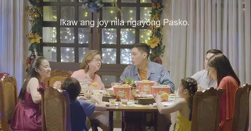 MANILA. Jollibee won in the Christmas category for its 30-second TV ad called Comet, which showcased classic family togetherness, warmth, love and cheer. (Contributed)