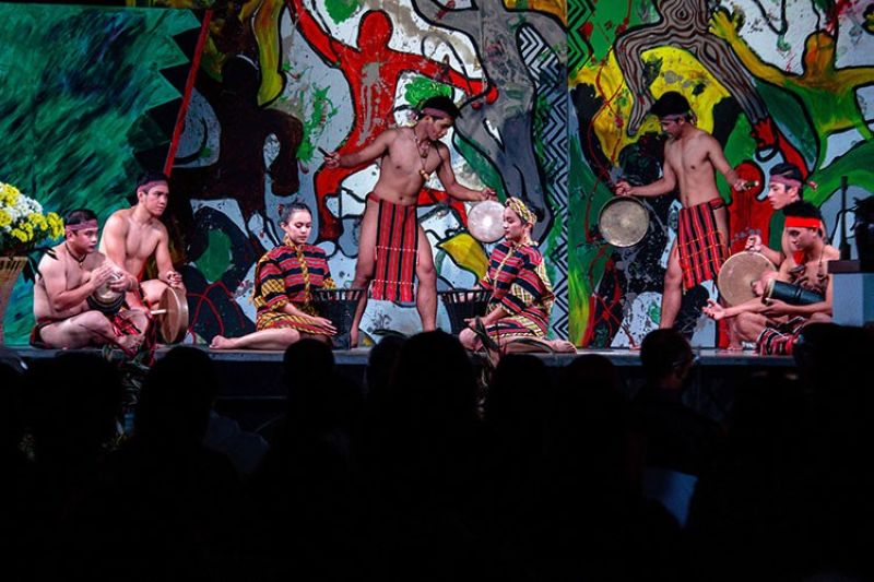 BAGUIO. Ibagiw creative fest never fails to acknowledge and celebrate culture and traditions. (Photo by Jean Nicole Cortes)