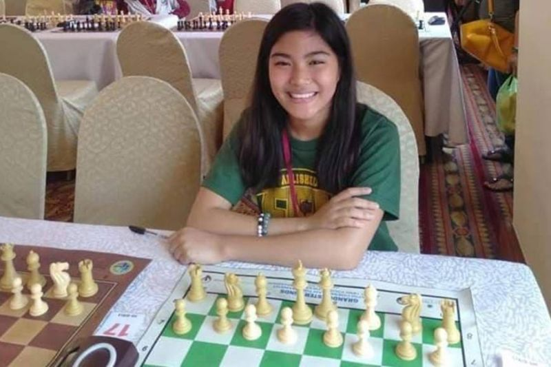 NATIONAL GIRLS 14U CHAMPION. Davao City's Samantha Umayan earned a ticket to the Asian qualifying of the Fide Online World Cadets & Youth Rapid Chess Championships after topping the national qualifying grand finals girls U14 division held Saturday, November 14, via tornelo.com. (Contributed photo)