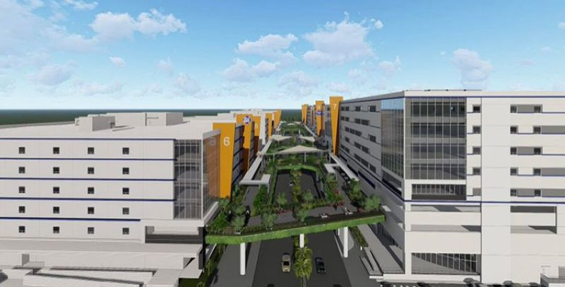 TECH HUB. Artist's perspective of SM City Clark's Skyline and Tech Hub 7-10. (Contributed photo)
