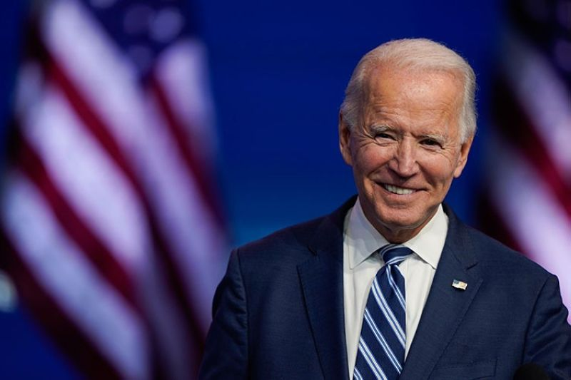USA. In this November 10, 2020, file photo, President-elect Joe Biden smiles as he speaks at The Queen theater in Wilmington, Delaware. Biden turns 78 on Friday, November 20. (AP)