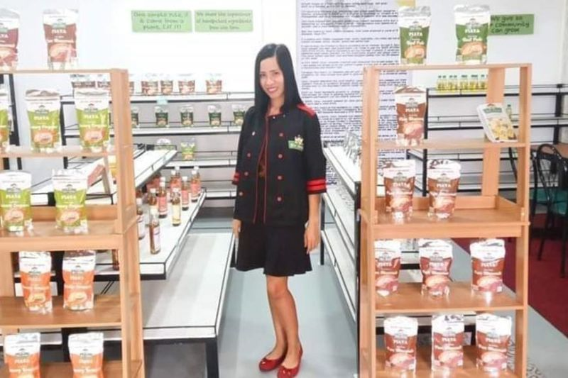 INSPIRING MSME. Negrense food producer Jesselle Hayacinth Hablo is awarded as among the 15 inspiring MSMEs in the country during the virtual celebration of the 15th year of the DTI's Go Negosyo on November 27. (Contributed Photo)