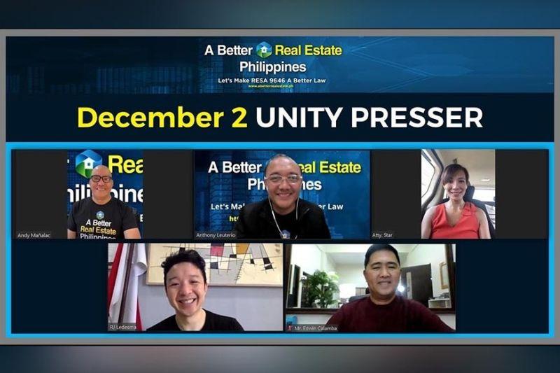 ANG mga misalmot atol sa virtual Unity Presser. (Contributed photo)