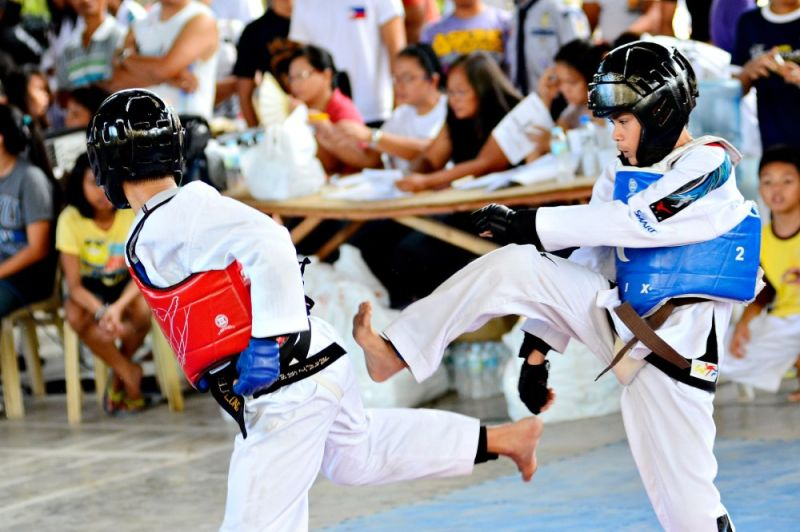 FIGHT. National sports associations have expressed opposition to a bill that prohibits minors from engaging in full-contact sports. / (Anthony Suralta)