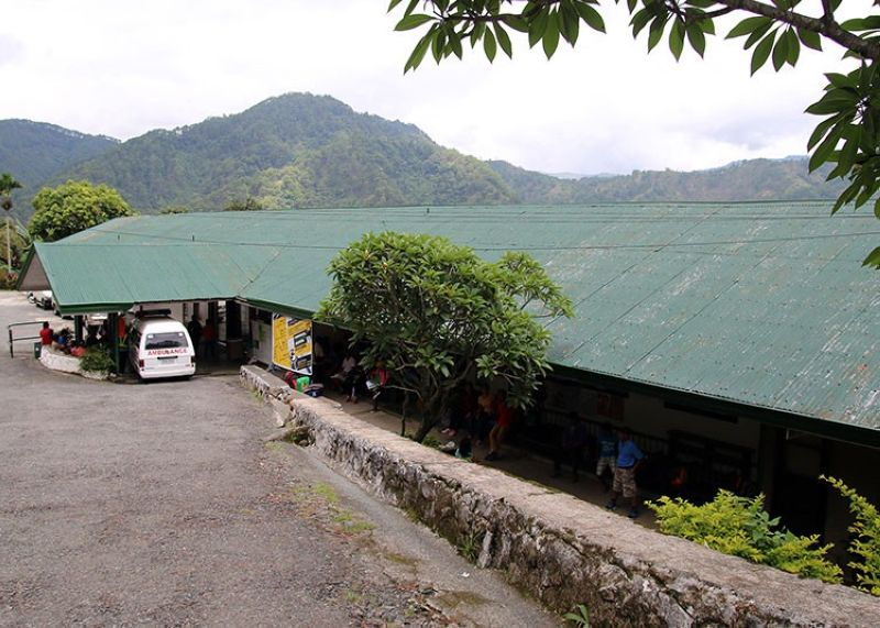 CAPACITY FILLED. With the Lepanto Hospital already full, schools in three barangays of Mankayan, Benguet were turned into isolation facilities to isolate Covid-19 patients. (SunStar Baguio File)