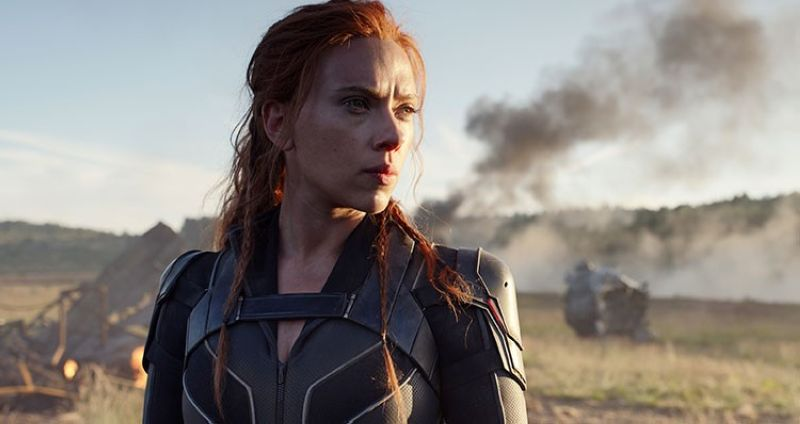 USA. This image released by Disney/Marvel Studios' shows Scarlett Johansson in a scene from