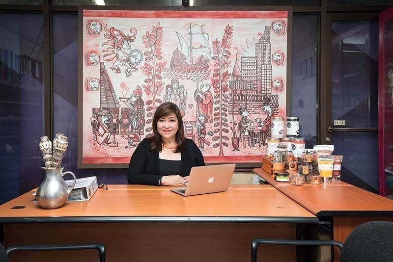 NATIONAL CHAIRPERSON SA PCIC: Si Armi Lopez Garcia, CEO sa Cebu-based Tablea Chocolate, napili nga national chairperson sa Philippine Cacao Industry Development Council (PCIC), Disyembre 9, 2020.  (Tampo)