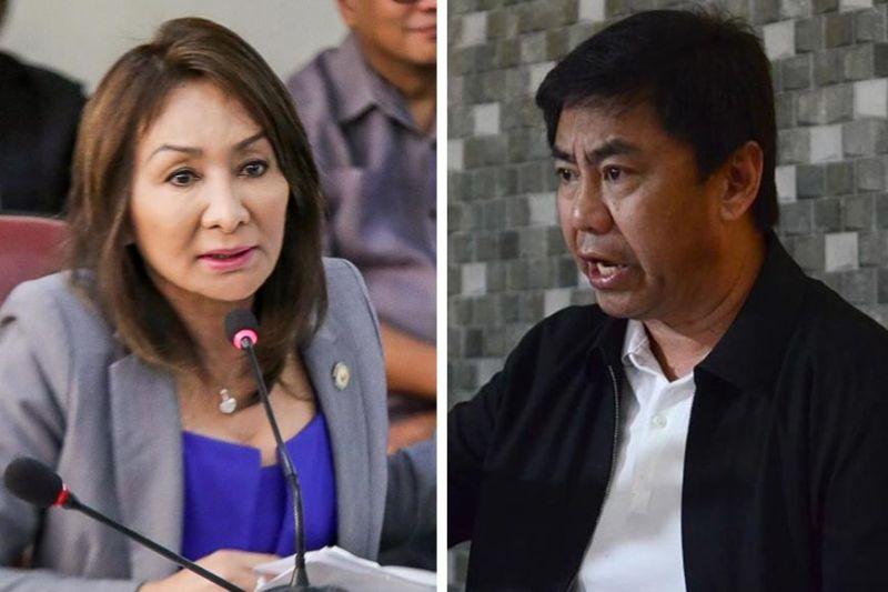 "Cebu Gov. Gwendolyn Garcia, Lapu-Lapu City Mayor Junard ""Ahong"" Chan. (File photo)"