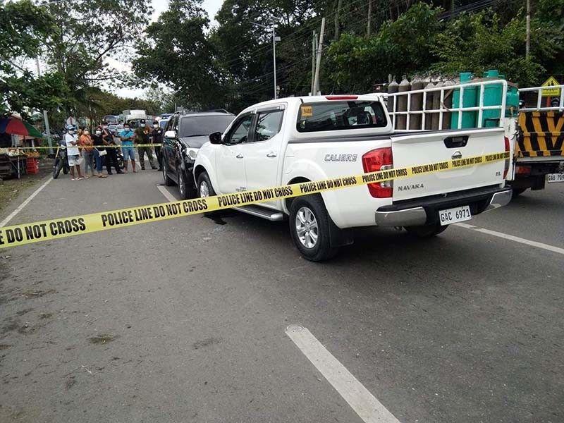 The pick-up of Atty. Baby Maria Concepcion Landero-Ole. Photo courtesy of Danao City Police Office.