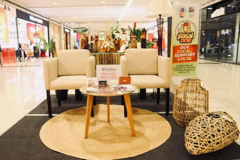 LOCAL MSMES EXHIBIT. The City Government stages an exhibit featuring the products of the One Town, One Product (OTOP) store, inside SM Clark. (Angeles City PIO)