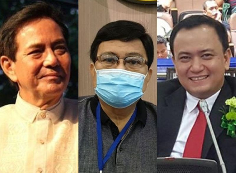CEBU. Vice Mayor Mike Rama, Mayor Edgardo Labella and Councilor Raymond Garcia. (File photo)