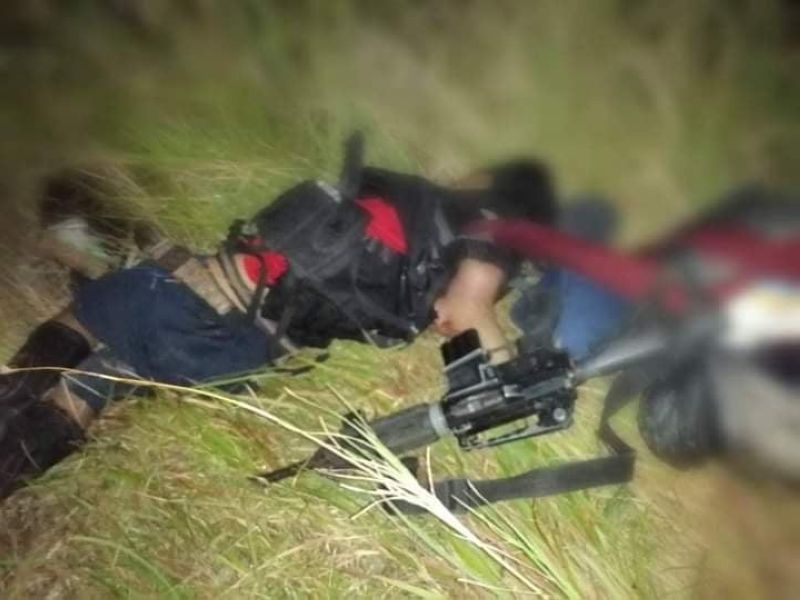 CLASH. Two rebels were killed in a clash with government troopers on Christmas Eve in Barangay Napacao, Siaton, Negros Oriental. (Contributed photo)