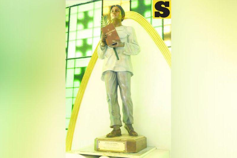 Pedro Calungsod statue. (SunStar Photo)