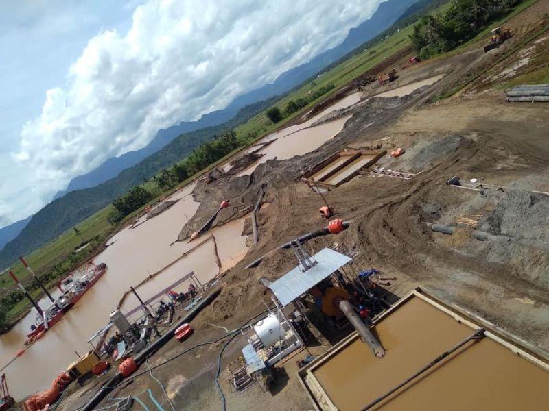 LEYTE. Black sand mining in Barangay Maya, MacArthur, Leyte (File photo)
