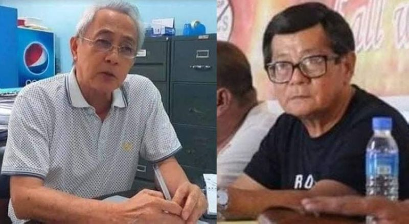 BACOLOD. Metro Bacolod Chamber of Commerce and Industry chief executive officer Frank Carbon (left) and General Alliance of Workers Associations secretary-general Wennien Sancho (right). (File photo)