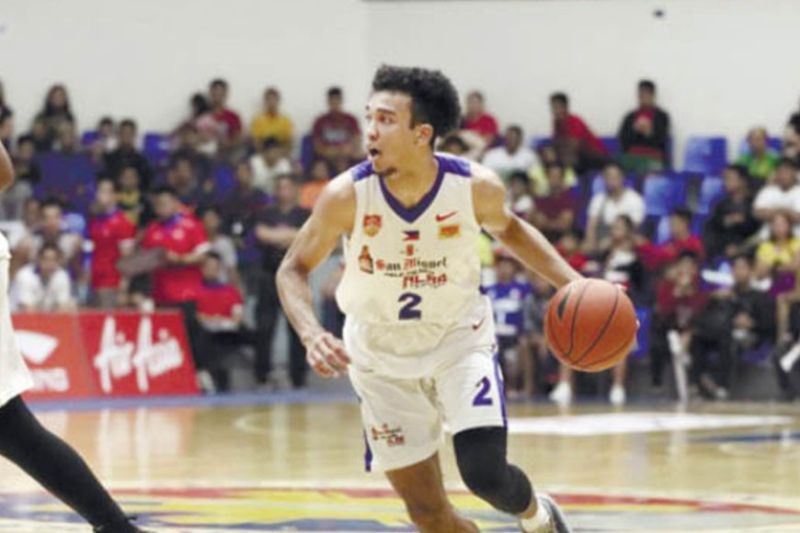 MISS. Jeremiah Grey (in image), Jason Brickman and Brandon Ganuelas-Rosser are in danger of being declared ineligible for the 2021 PBA Draft because of their lack of required documents. / Alab Pilipinas