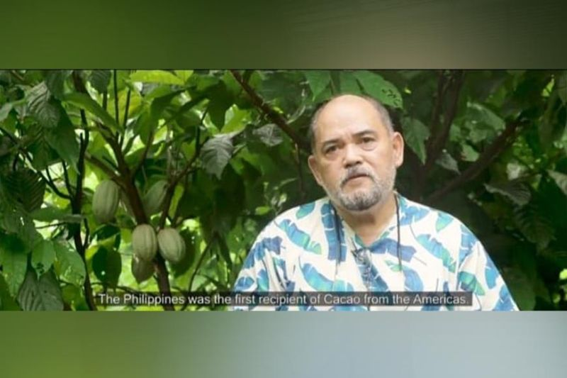 NEGROS. Negrense cacao farmer and cocoa producer Christopher Fadriga is one of the country's representatives to the 2021 International Cocoa Awards in Paris, France. (Screenshot from Slow Food Negros video)
