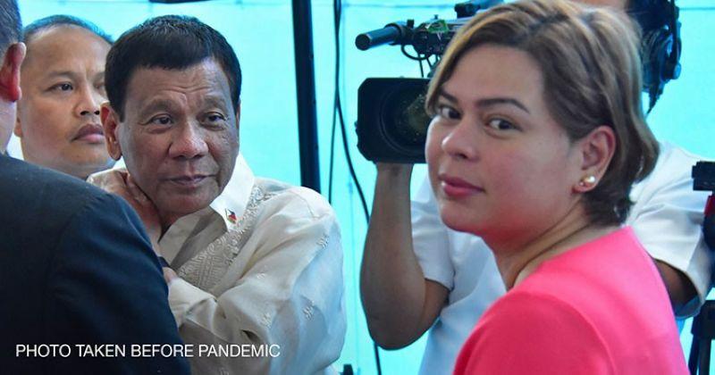DAVAO. Davao City Mayor Sara Duterte-Carpio and her father, President Rodrigo Duterte. (File photo)