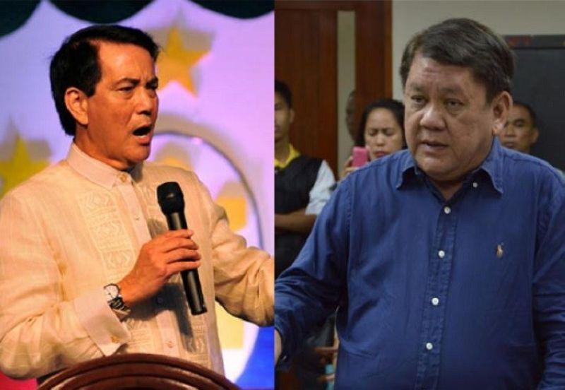 CEBU. Cebu City Vice Mayor Michael Rama and former mayor Tomas Osmeña. (File photos)