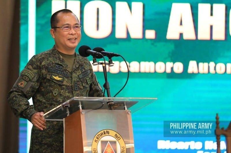 MANILA. Lt. Gen. Cirilito Sobejana is the incoming AFP chief-of-staff. (Philippine Army)
