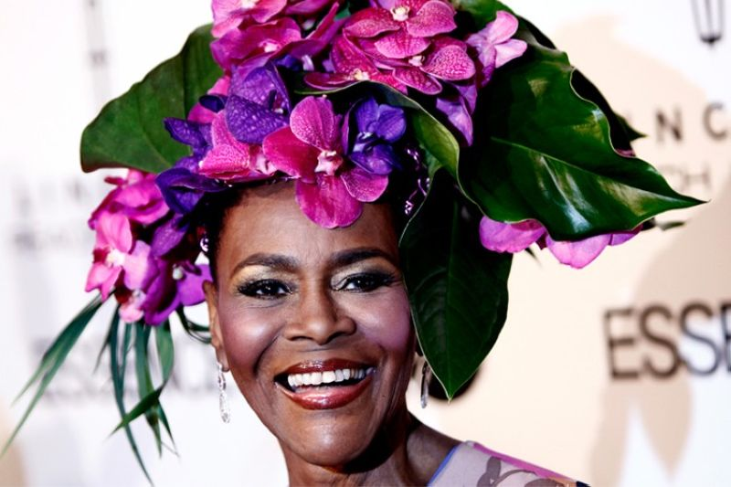 Honoree Cicely Tyson arrives at the Essence Third Annual