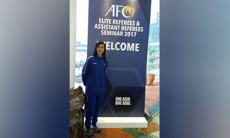 11TH TIME. Davao City's Merlo Silva Albano made it to the elite Fifa 2021 Refereeing International List anew. (Merlo Silva Albano's Facebook account)