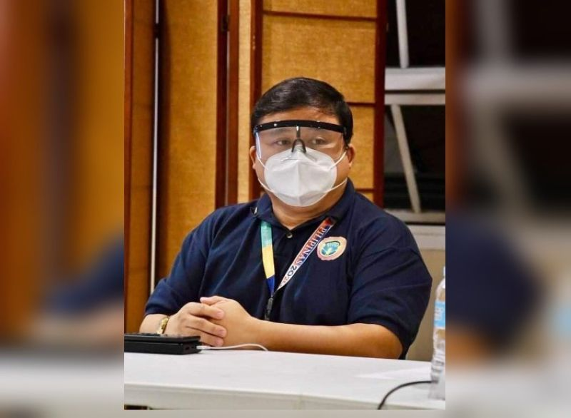 BACOLOD. Dr. Chris Sorongon, deputy for medical data and analysis of Emergency Operations Center-Task Force in Bacolod. (Photo by Bacolod City PIO)