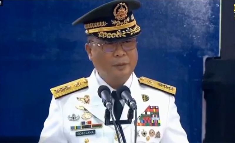 MANILA. Armed Forces of the Philippines Chief-of-Staff General Cirilito Sobejana. (Screenshot from AFP Facebook page)