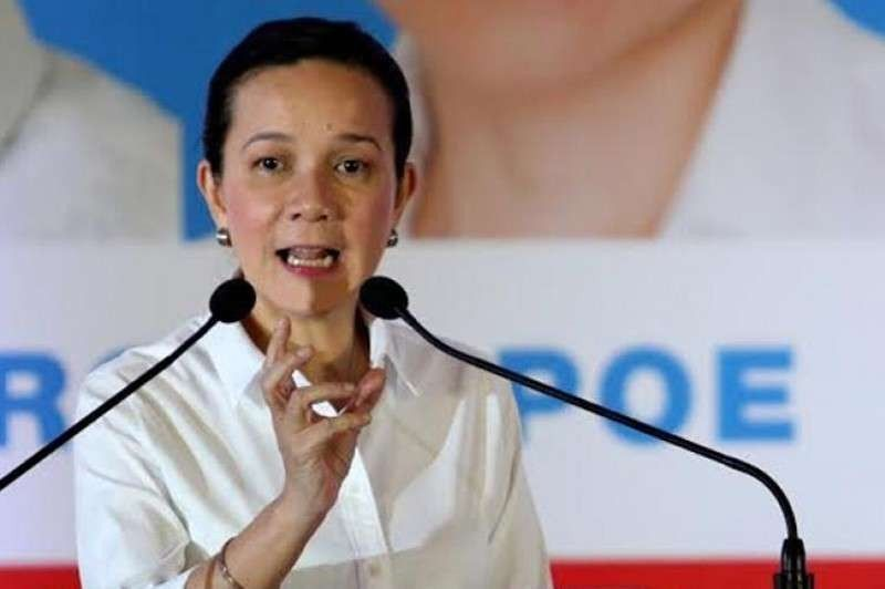 MANILA. Senator Grace Poe (File photo)