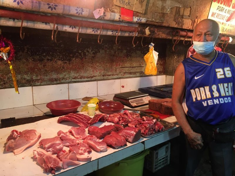 NEGROS. For three consecutive weeks now, a significant increase in the average prices of meat products in Negros Occident was noted. (Rommel Salazar photo)