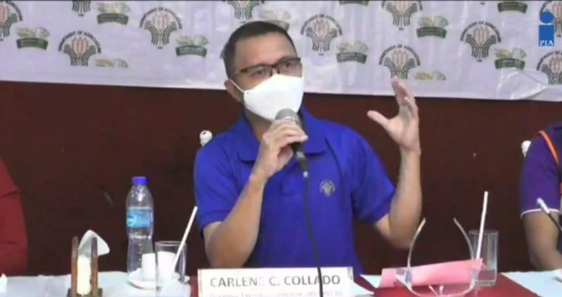 CAGAYAN DE ORO. Carlene Collado, the regional director of the Department of Agriculture-Northern Mindanao, confirms the presence of ASF in Barangay Hampason, Initao and Pagawan, Manticao in Misamis Oriental; and Barangays Mambuaya and San Simon in Cagayan de Oro. (Screenshot from PIA video)