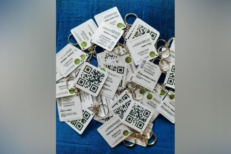 BACOLOD: A photo of BaCTrac keychains believed to be sold at P65 per piece posted on Facebook. (Contributed photo)
