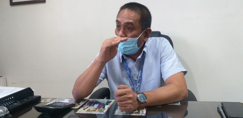 NEGROS. NFA-Negros Occidental Provincial Manager Epifanio Cosca in an interview at his office in Bacolod City Tuesday, February 16, 2021. (Erwin P. Nicavera)