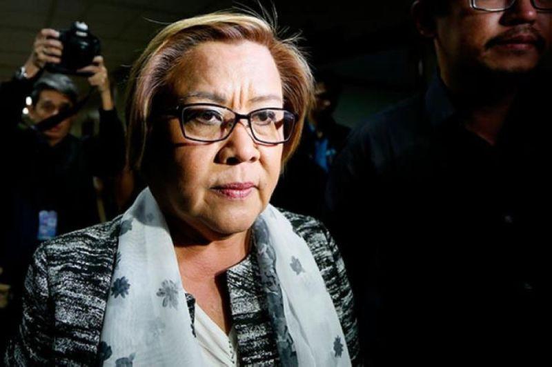 Senator Leila de Lima (File)