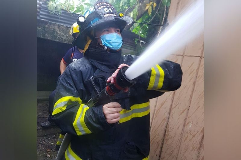 DAVAO. Christian Serrano, Rescue Volunteer Firefighter-Emergency Medical Service of the Filipino-Chinese Firefighters Foundation Davao. (Contributed photo)