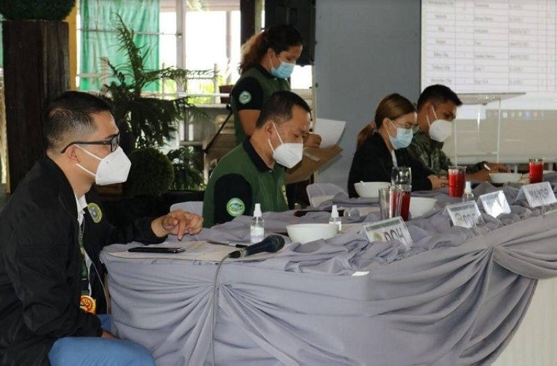 ILOILO. Twelve barangays in Negros Occidental were declared as drug-cleared during the 24th Regional Oversight Committee meeting in Iloilo on February 17. (PDEA photo)