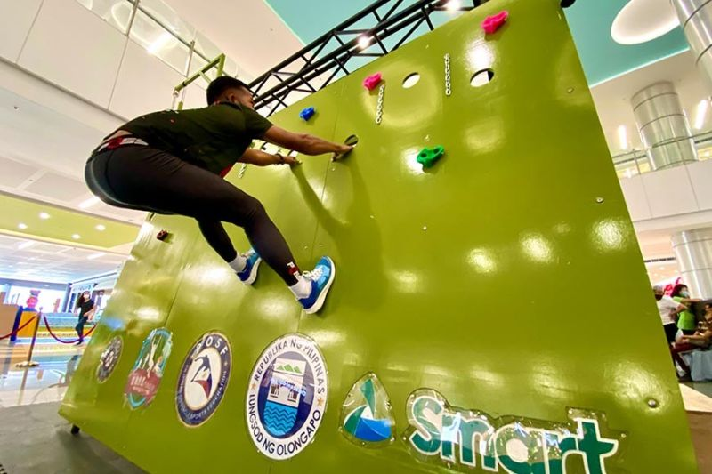 The obstacle box at SM City Olongapo Central. (Contributed photo)