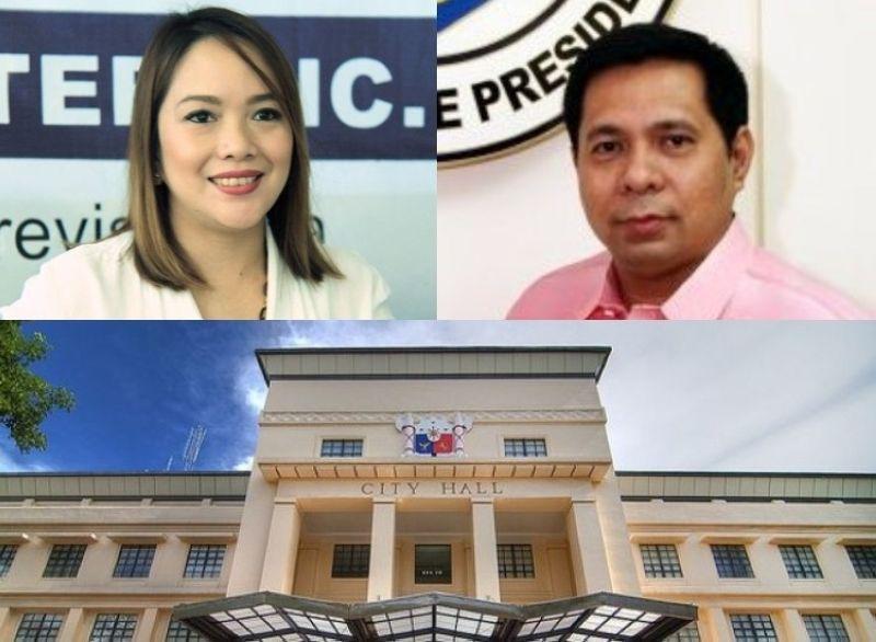 CEBU. (Clockwise) Cebu City Councilor Prisca Nina Mabatid, Atty. Clarence Paul Oaminal, and the Cebu City Hall. (File photos/ Clarence Paul Oaminal's Facebook page)