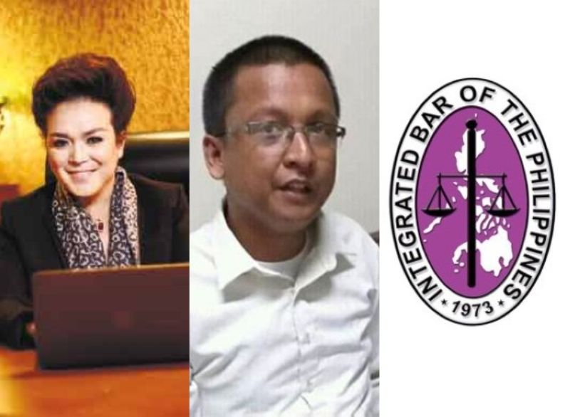 CEBU. Lawyers Regal Oliva and Vincent Isles and the Intergrated Bar of the Philippines seal. (File photos)