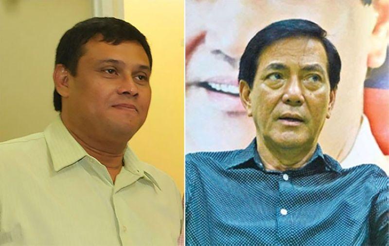 CEBU. Former Cebu City councilor Joey Daluz and Cebu City Vice Mayor Mike Rama. (SunStar File)