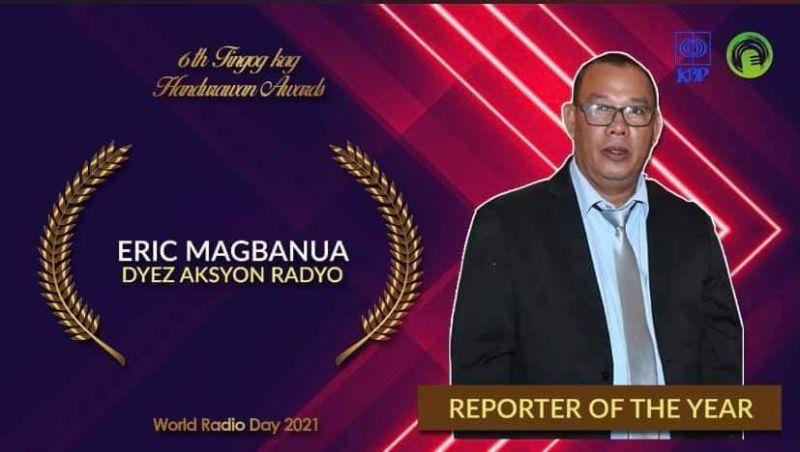NEGROS. The 6th Tingog kag Handurawan awardees. (Contributed photo)
