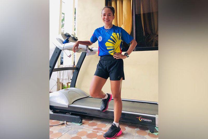 EYES ON SEA GAMES. First Filipino marathon Olympian Mary Joy Tabal will shift her training focus on the 31st Southeast Asian (SEA) Games set on November 21 to December 2 in Hanoi, Vietnam after she has given up hope on her Tokyo Olympics qualifying bid after qualifying races were postponed. (Photo from Mary Joy Tabal)