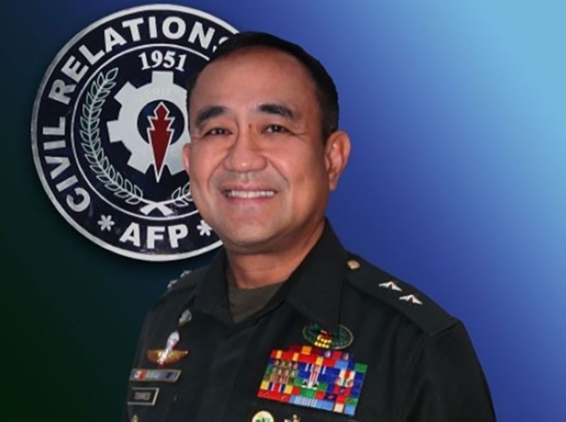 DAVAO. Major General Ernesto C. Torres Jr. (Contributed photo)