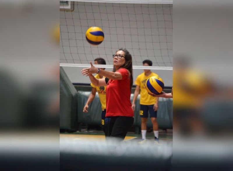 CEBU. Cebuana volleyball legend Grace Antigua has been tapped to serve as the second assistant coach of the Philippine national women's volleyball team. (Grace Antigua Facebook page)