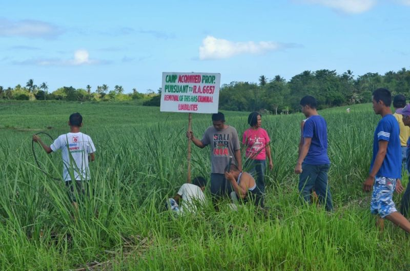NEGROS. Registering land titles for 1,843.8924 hectares for 2020, the Department of Agrarian Reform in Negros Occidental-North ranks second in terms of certificate of land ownership award registration nationwide. (Contributed Photo)