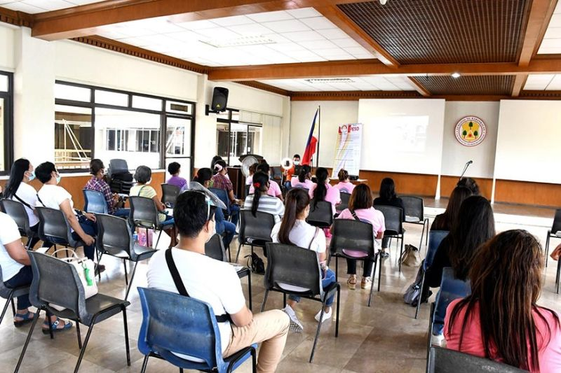 KABANKALAN. Forty-four overseas Filipino workers in Kabankalan City attend a forum dubbed