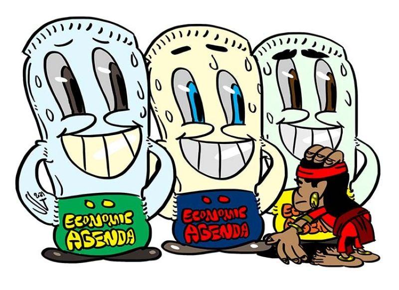 Editorial Cartoon by Gilbert Manantan