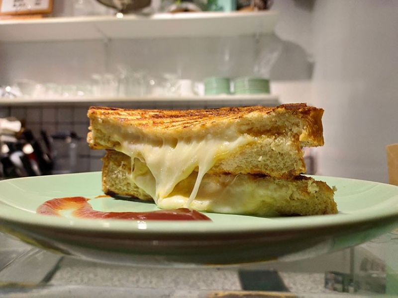 DAVAO. Confex & Co.'s Grilled Cheese Sandwich. (Contributed photo)